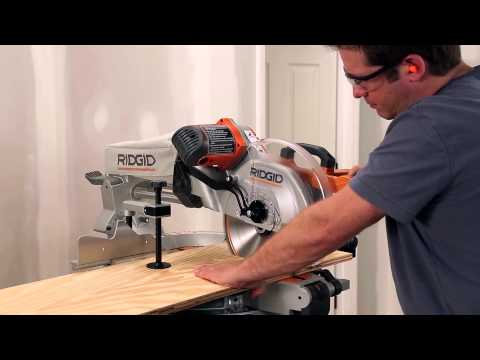 RIDGID Miter Saw Tips & Tricks with David Sheinkopf