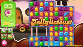 Candy Crush Jelly Saga Level 395 (3 star, No boosters)