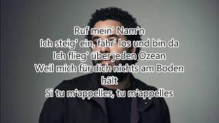 Adel Tawil Tu M'appelles Lyrics