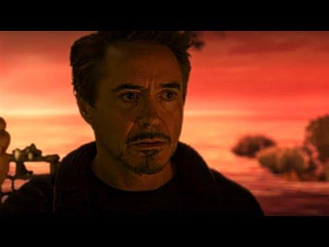 Esta es la Escena Eliminada De Avengers Endgame  Tony Stark Habla Con Morgan en el mundo gema
