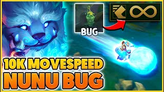 These Plants give my Snowball 10,000 MOVESPEED - BunnyFuFuu | League of Legends