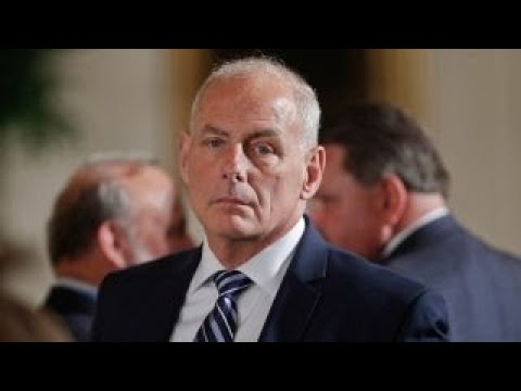 John Kelly defends Trump's call to widow