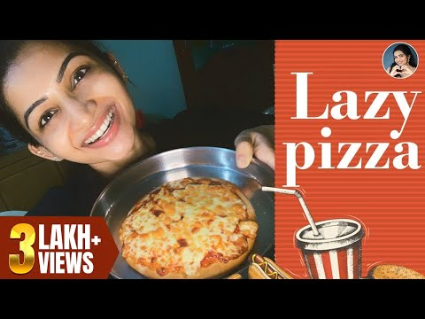 Very Easy Lazy Pizza | Homemade Recipes | Cook with Nakshu