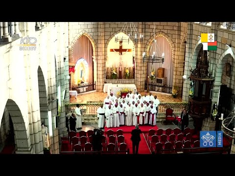 Rencontre du pape François avec les évêques de Madagascar