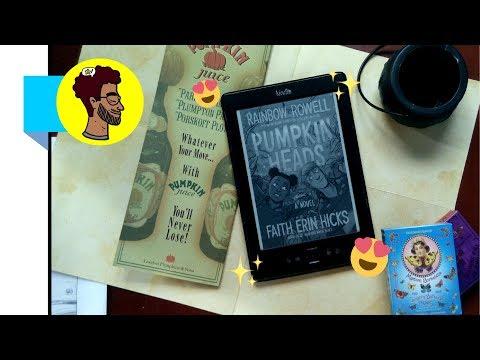 PUMPKINHEADS | A HQ de Halloween da Rainbow Rowell  | BOOKCRUSHES