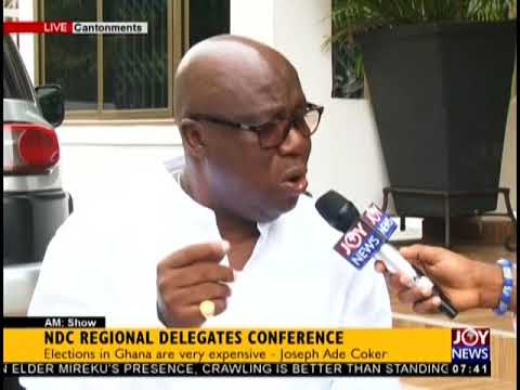 Exclusive With Ade Coker - AM Talk on JoyNews (3-9-18)