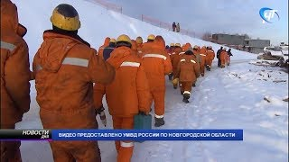 Выявлены нарушения миграционного законодательства на новгородском участке строительства трассы «М-11»