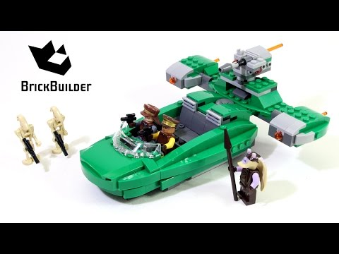 Vidéo LEGO Star Wars 75091 : Flash Speeder