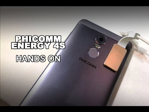 MWC 2017: Phicomm Energy 4S - 159 € Smartphone mit Fingerabdrucksensor im Hands On