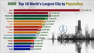 Top 15 Most Largest Cities In The World
