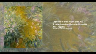 Capriccio in B-flat major, BWV 992