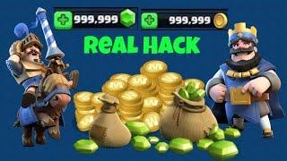 Clash Royale Real Hack !!!   9999999 Gems  9999999 Gold  2016