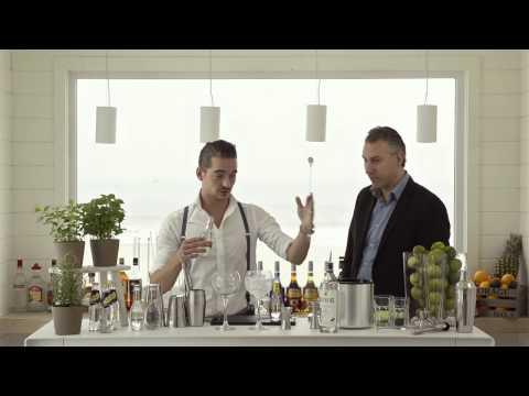 Gin tonic maken perfect serve!