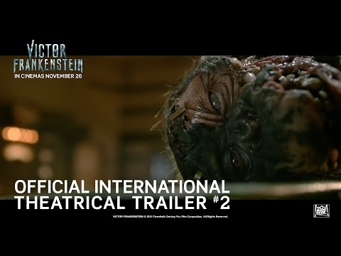 Victor Frankenstein [Official International Theatrical Trailer #2 in HD (1080p)] R