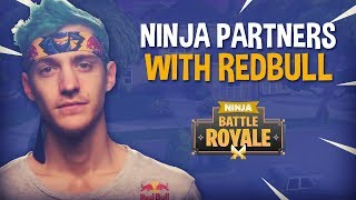 Ninja Partners With Redbull!! - Fortnite Battle Royale Gameplay - Ninja