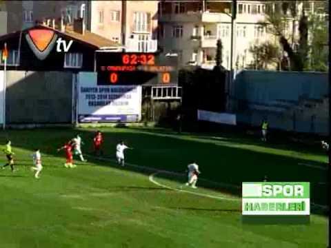 27.10.2013 Gaziosmanpaşa 0-4 Yeni Malatyaspor Maçı Golleri