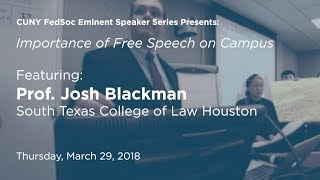 Click to play: The Importance of Free Speech on Campus