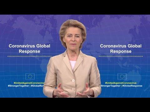 Παγκόσμια αντίδραση στον κορονοϊό | Πρόεδρος ΕΕ κ. Ούρσουλα φον ντερ Λάιεν | 24/04/2020