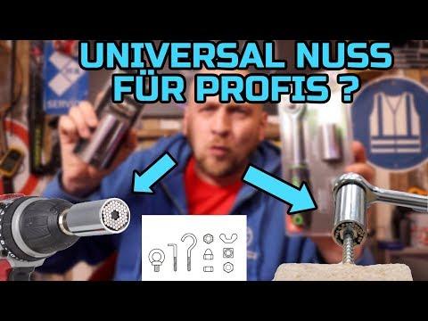 🔴 FUNKTIONIERT DAS WIRKLICH ? UNIVERSAL NUSS