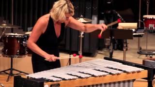 Jean et Paul by Astor PIAZZOLLA soloing Emmanuel SÉJOURNÉ & Sylvie REYNAERT PercuFest 2014