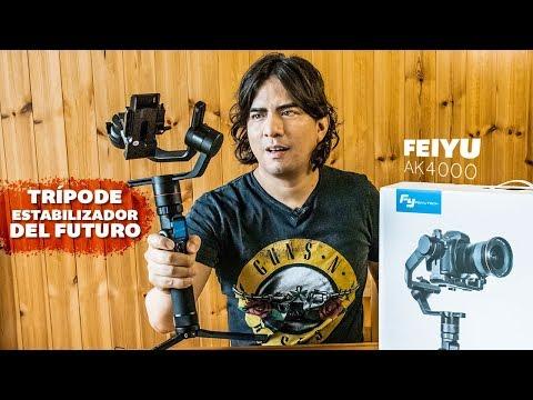 ¿Tienes un canal de Youtube?¿Quieres mejorar tus videos?: El trípode estabilizador del futuro.