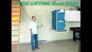 Attic Lift (Versalift) 2017 DIY Do It Yourself