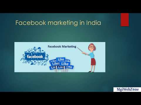 Facebook Marketing Services | Facebook Marketing Agency in India