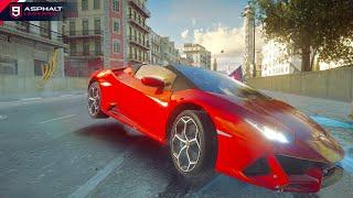 Asphalt 9 Lamborghini Hurican Evo Spyder Test Drive Free Video