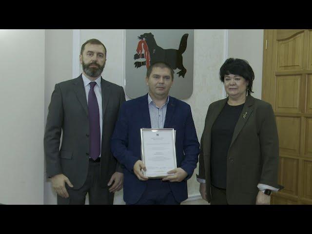 Спикер Законодательного собрания Приангарья наградил работников лесхозов