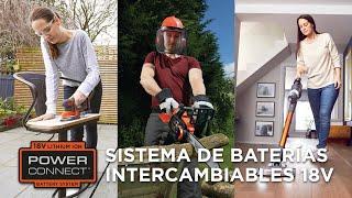 BLACK+DECKER Sistema de baterías intercambiables POWERCONNECT™ anuncio