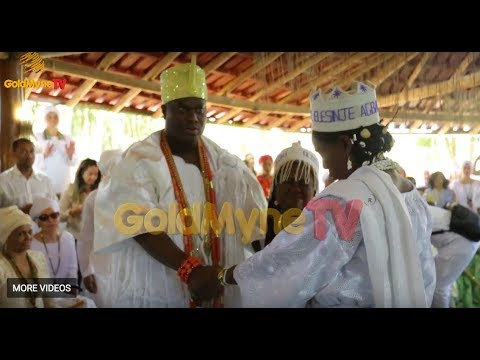 OONI OF IFE INVITES THE SPIRIT OF OSUN IN BRAZIL.. SEE WHAT HAPPENED IN MINAS GERAIS