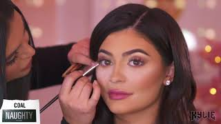 Kylie Jenner Naughty and Nice Palette Tutorial with Hrush - Video Youtube