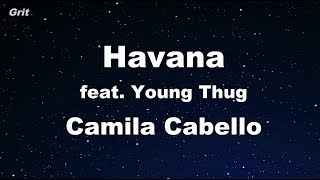 Havana Ft. Young Thug - Camila Cabello   【with Guide Melody】 Instrumental