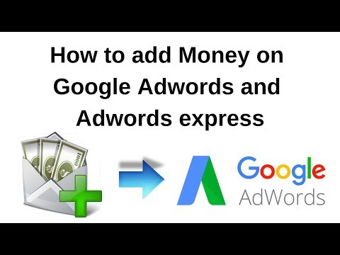 How can we add Payment on Google Adwords and Adwords Express