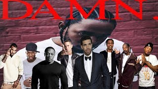 Celebrities Talk About Kendrick Lamar (Eminem, Drake, Dr Dre, Snoop Dog, YG & more!)