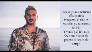 Tutu   Pedro Capó & Camilo   (Lyrics)