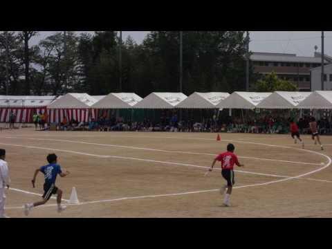 2017年 雲雀丘学園中学校 体育大会 クラブ対抗リレー 男子第1レース