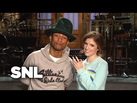SNL Promo: Anna Kendrick and Pharrell Williams
