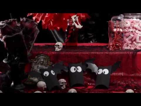 Décoration Halloween sur le thème des vampires