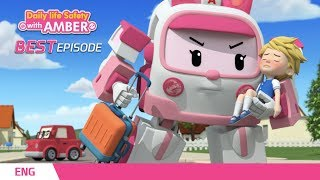 ⭐Best episodes │🚒Daily life Safety with AMBER│Robocar POLI TV