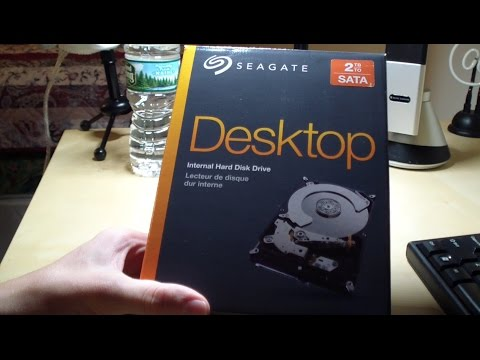 Seagate 2TB Internal Hard Drive Unboxing + Review