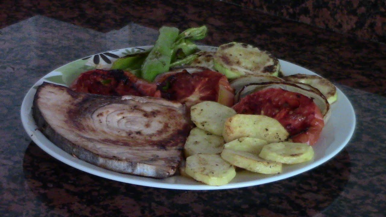 PEZ ESPADA A LA PLANCHA CON VERDURAS | recetas de cocina faciles rapidas y economicas de hacer