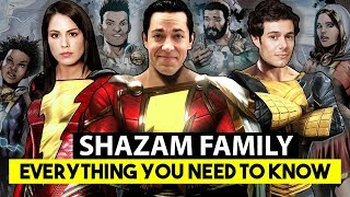 Shazam Family and 7 Deadly Sins Explained in Urdu/Hindi