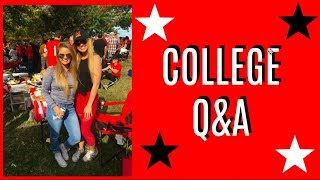 COLLEGE Q&A! Greek Life, Double Majoring & More! ~ University of Maryland