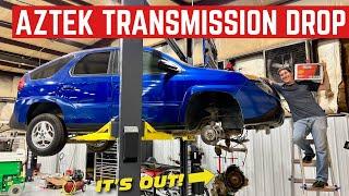 Pulling GM's WEAKEST Transmission Out Of My $1,000 Pontiac Aztek