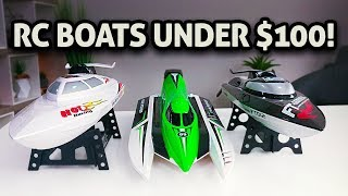 3 RC Boats Under $100!!