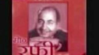 Film Aadhi Roti Year 1957 Song Mat Pyar Mein Dhoka Khana By Rafi Sahabflv