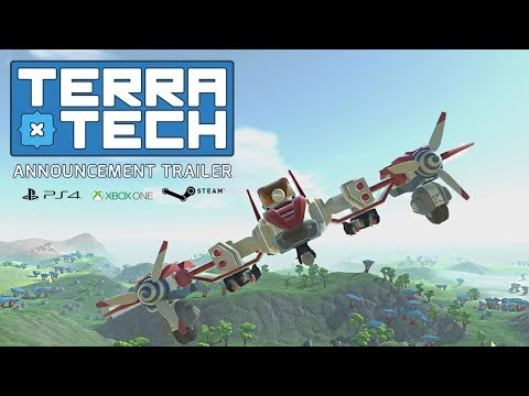 TerraTech Announcement Trailer | PS4 | Xbox One | Steam thumbnail