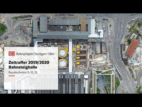 Neue Bahnsteighalle Bauabschnitte 9, 10,...