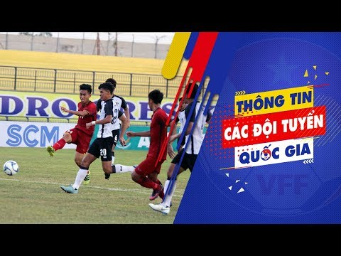 Giải U19 Đông Nam Á 2018: Việt Nam chia điểm đáng tiếc với Thái Lan
